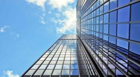 financial district building image