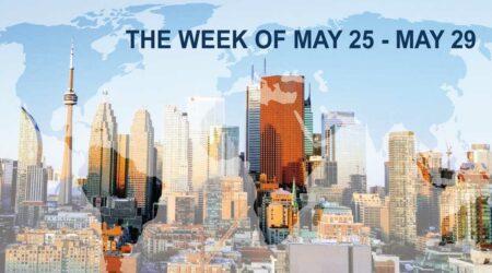 William's Weekly Economic Recap Toronto Skyline banner