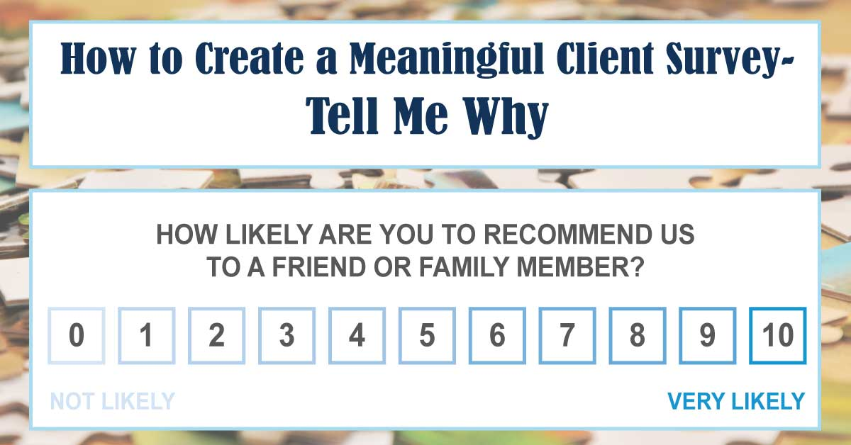 How to Create a Meaningful Client Survey